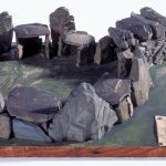 Model of St Helier passage-grave c.1835