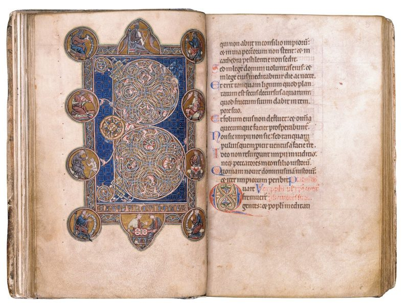 Image of MS 59 Lindsey Psalter