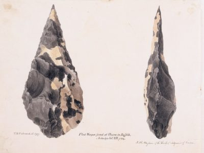 Hand Axe from Hoxne, Suffolk
