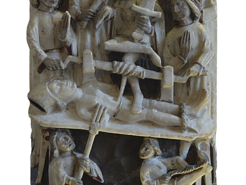Image of The Martyrdom of St Erasmus (Alabaster)