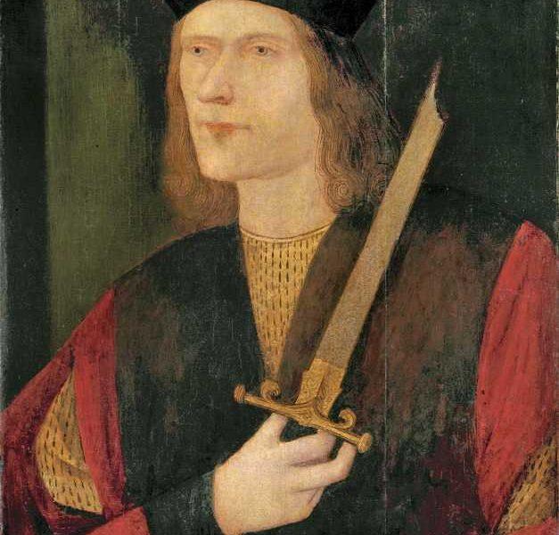 Image of Richard III (broken sword) (1452-1485)