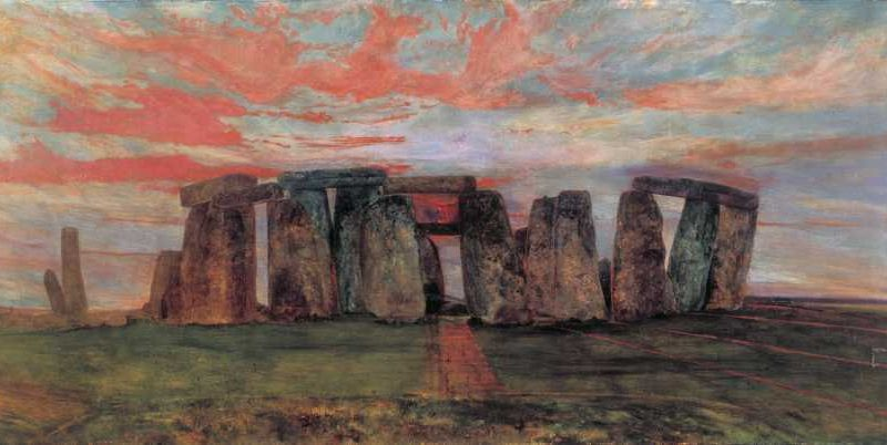 Image of Stonehenge from the east