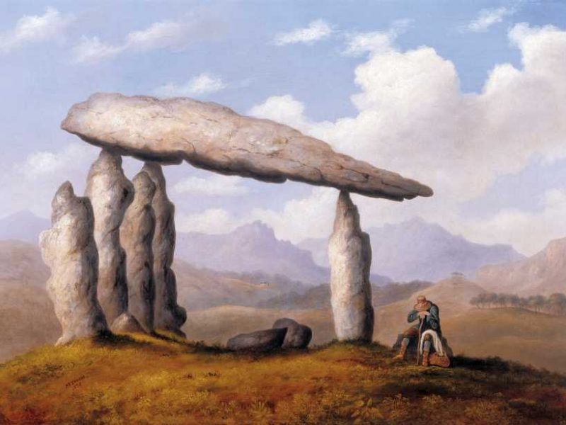 Image of Cromlech near Newport (Pentre Ifan)