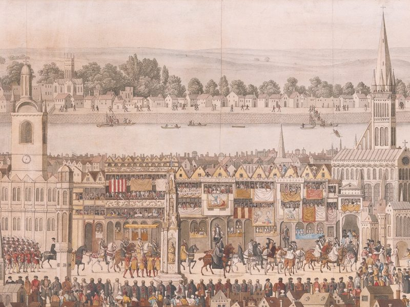 Image of Coronation Procession of Edward VI