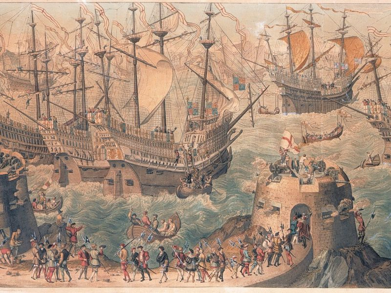 Image of The Embarkation of Henry VIII at Dover