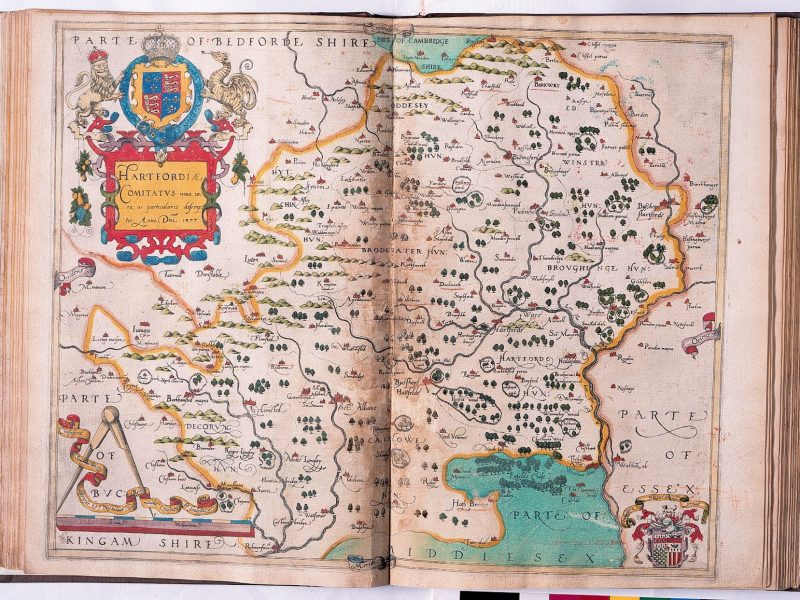 Image of 'Hertfordshire' from An Atlas of England and Wales
