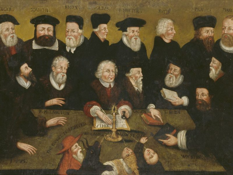 Image of Protestant Reformers