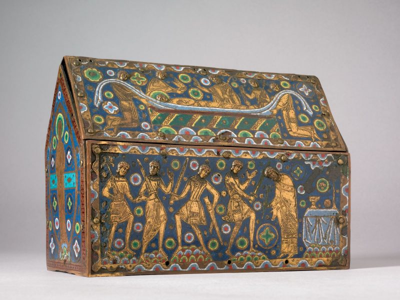 Image of St Thomas Becket Casket