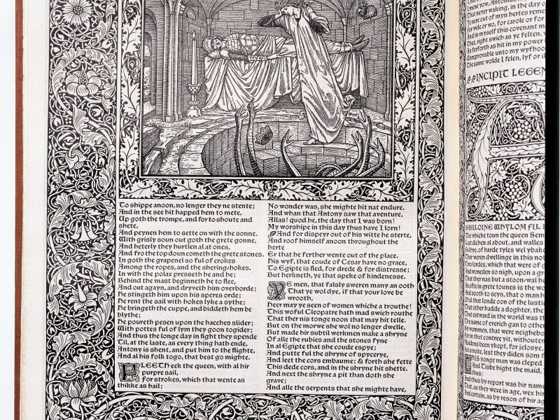 Image of 'The Legend of Good Wimmen' from The Works of Geoffrey Chaucer