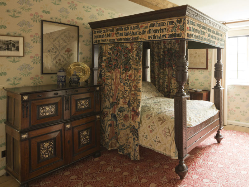 Image of William Morris's Bed